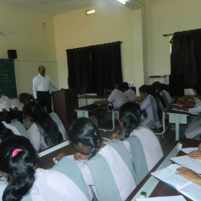 10 hours special Training programme on Communicative English by Prof. Stanly Rebello and Prof. Nityanand V. Gaonkar, Principal